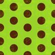 Seamless grungy green pattern
