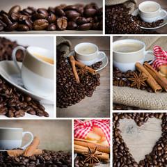 kaffeecollage