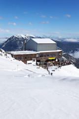Bergstation auf der Alpspitze