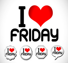 I Love The Days of the Week