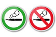 Electronic cigarette - Signs