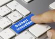 Business innovation. Keyboard