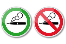 Elektroniczny papieros - Znaki