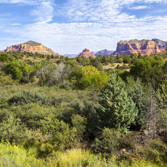 red rock landscape