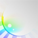 Abstract Spectral Sun Background