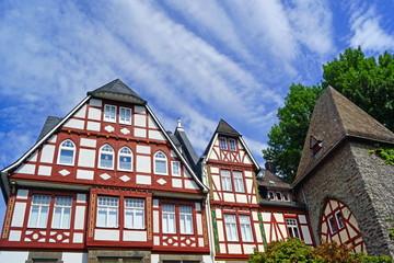 HERBORN ( Hessen ) - Altstadtpanorama