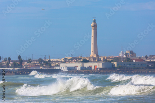 Lighthouse in Casablanca, Morocco