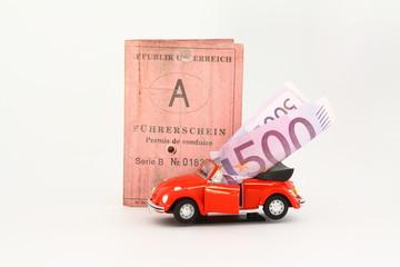 geld für führerschein
