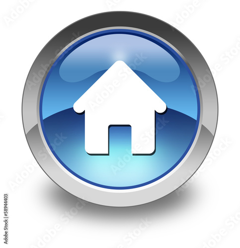 "Glossy Pictogram ""Home"""