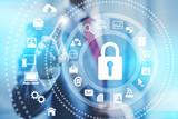 Internet security online business security services - Fine Art prints