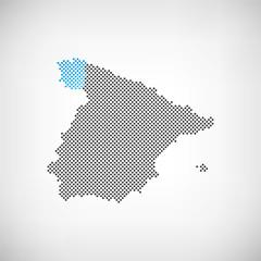 Spanien Provinz Galicien