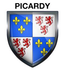Blason Picardy Region