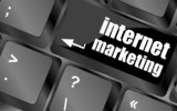 online marketing or internet marketing concepts