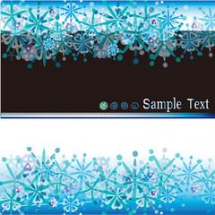 雪の結晶 crystals