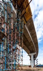 Overpass construction