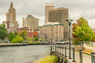 Providence Skyline, Rhode Island