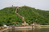 Great wall of Jaipur