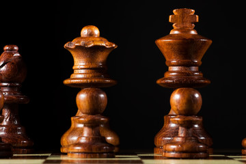 queen and king chess