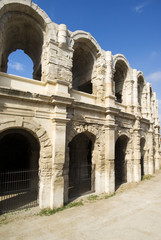 Arles Amphitheatre, a Roman arena in the southern French