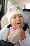 girl crying in car