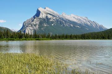 Mount Rundle; Vermilion Lakes, Banff