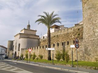 Zona histórica de Plasencia, Cáceres,España