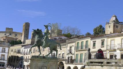 Zona histórica de Trujillo, Cáceres,España