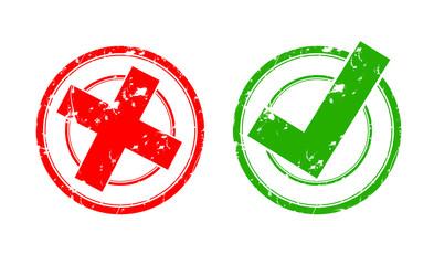icones pour ou contre