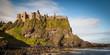 Leinwanddruck Bild - Dunluce Castle