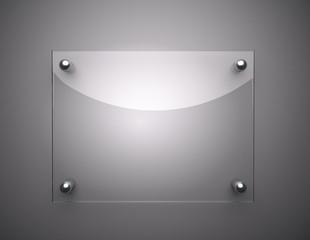 Blank Glass Plate