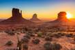 Leinwandbild Motiv Monument Valley twilight, AZ, USA