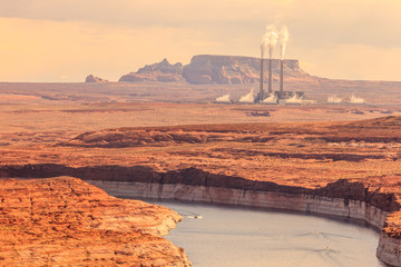 Navajo Power Generating Station lake Powell