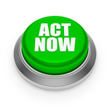 Green round act now button