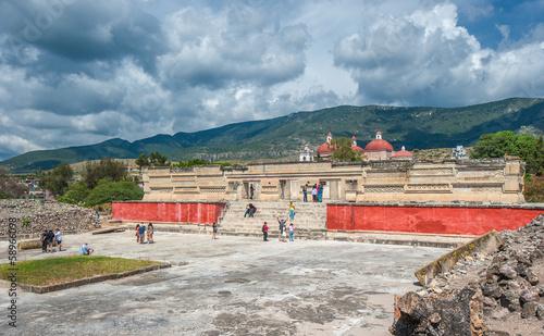 Ruins of Mitla, Oaxaca, Mexico