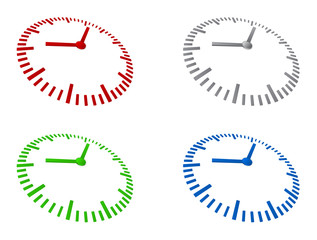 clock sign template