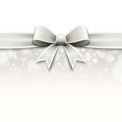 Décor nœud de ruban - Noël, saint Valentin, mariage...