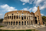 Colosseum or Coliseum, also known as the Flavian Amphitheatre, R