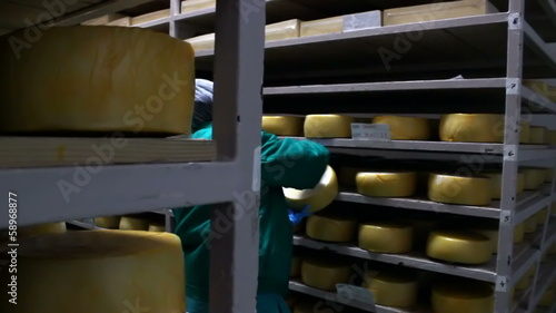 Cheese storehouse