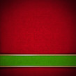 Luxury Floral Red and Green Velvet Background