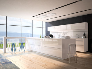 living kitchen