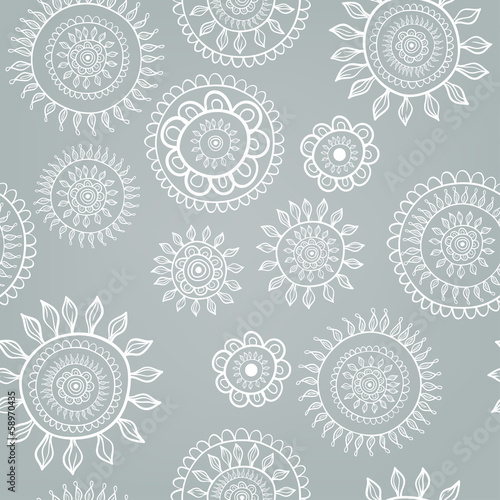 Snowflakes set. Background for winter and christmas theme