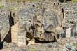 temple of the condor Machu Picchu ruins peruvian Andes  Cuzco Pe