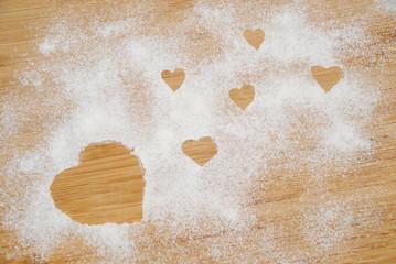 Cuori di farina