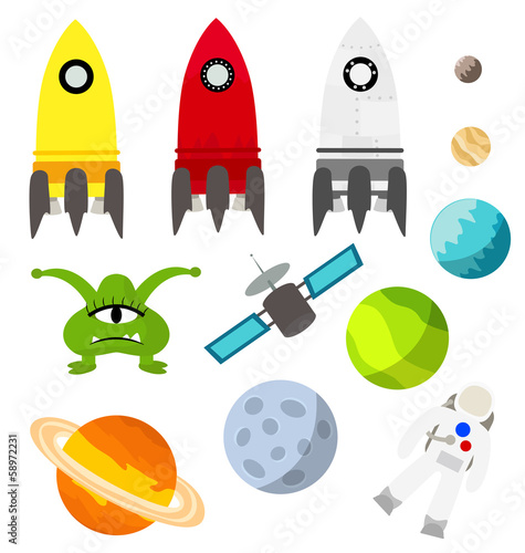 Space vector elements