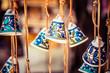 Ceramic bells as souvenir from Jerusalem, Israel. - 58972683
