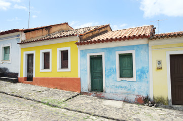 Traditional Brazilian Portuguese Colonial Architecture