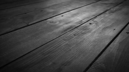 Black and White Wooden boardwalk Floor slider dolly movement