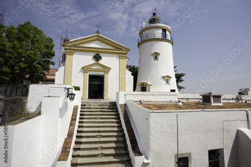 Guia Lighthouse, Fortress and Chapel in Macau