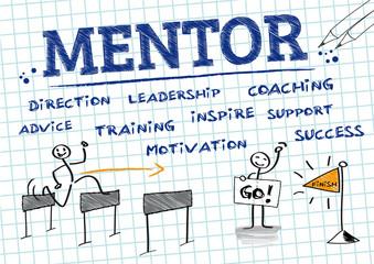 Mentor, Mentoring, english Keywords