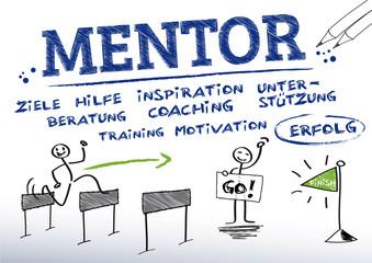 Mentor, Mentoring, German Keywords